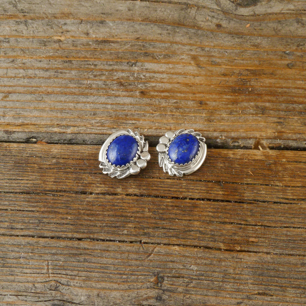 Dolores Cadman Lapis Earrings