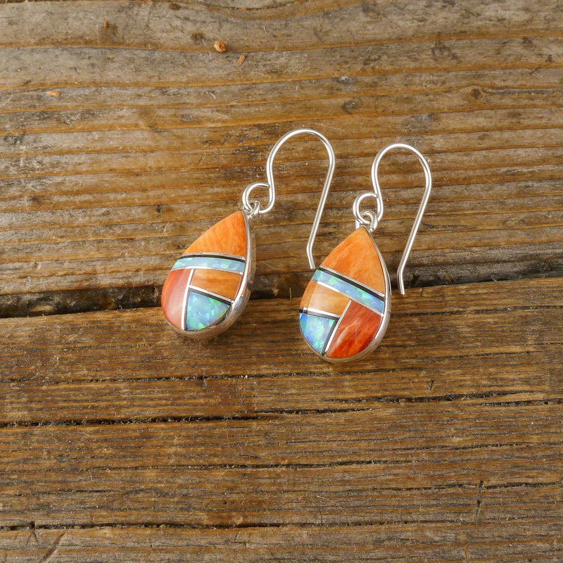 Cathy Websters Inlay Earrings