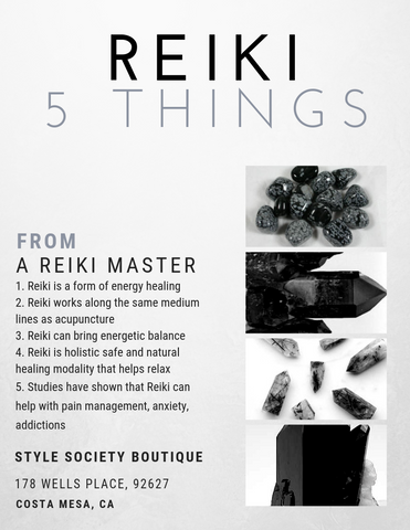 5 things about reiki by style society boutique costa mesa california