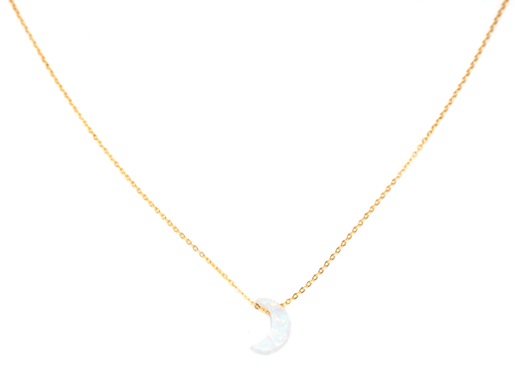 Opalite Moon Necklace