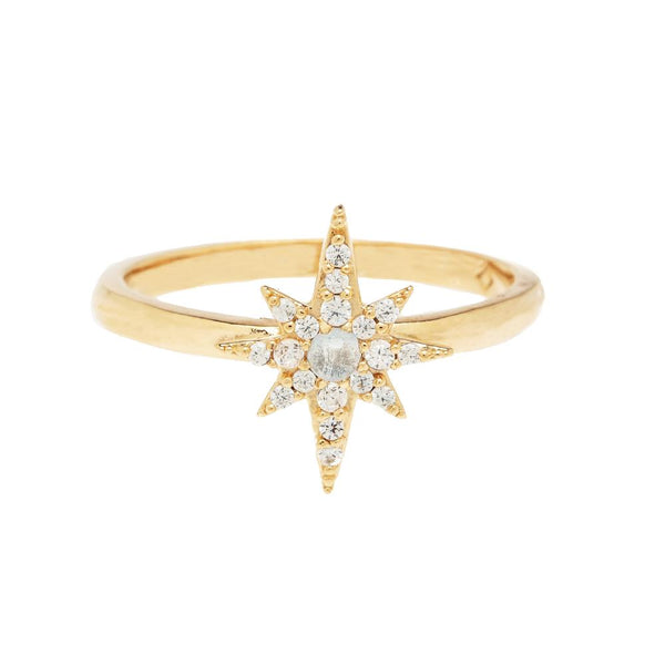 OC Boutique Single Star Ring Vivianna D' Otanon gold filled ring