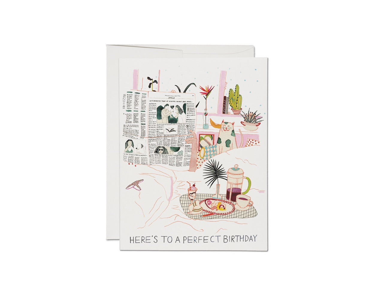 heres to a perfect birthday card red cap cards