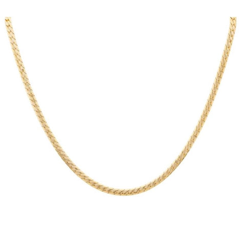 Flat Cuban Statement Chain