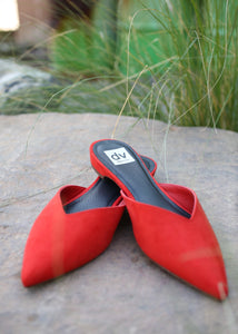 alert flats dolce vita red shoes