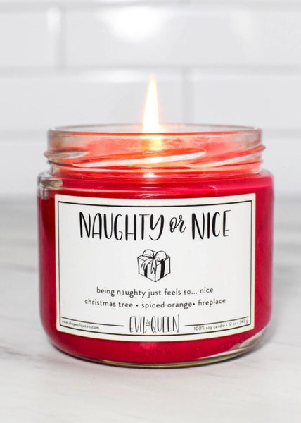 Naughty or Nice Candle
