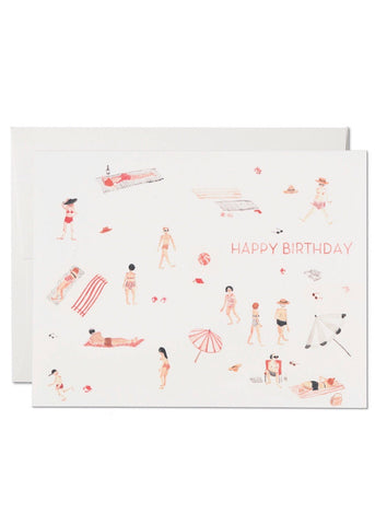 Beach Bums Birthday Card