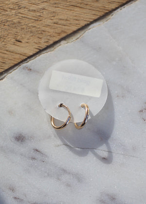 costa mesa boutique may martin gold filled hoop earrings