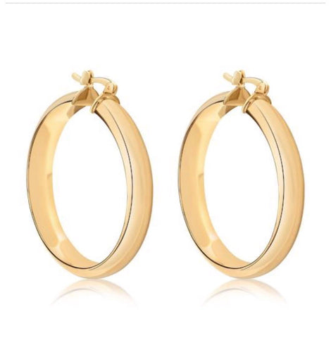 7mm Hoop Earrings