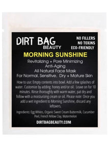 Morning Sunshine Face Mask Single Use