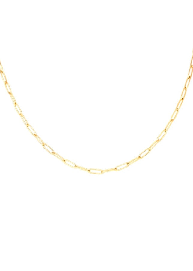 Lily Link Chain Necklace