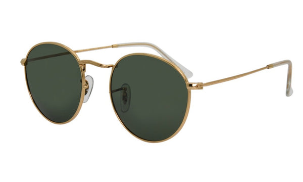Newport Beach Boutique I-sea Sunglasses London Gold with polarized lens 2