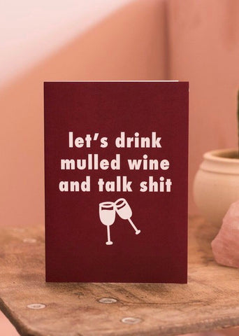 Mulled Wine Card