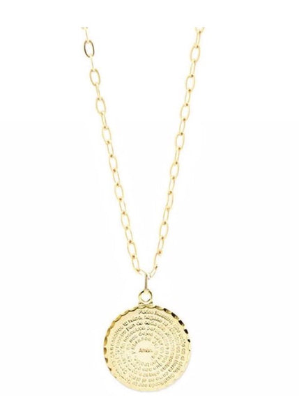 Medallion Short Pendant