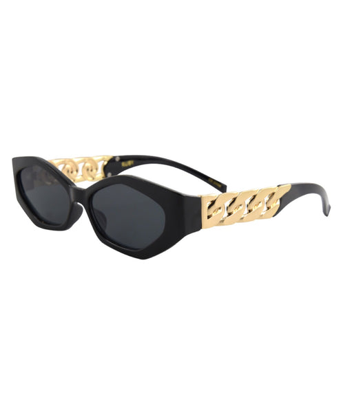 OC Boutique Ruby Sunglasses Isea black sunglasses 2