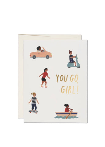 You Go, Girl Card