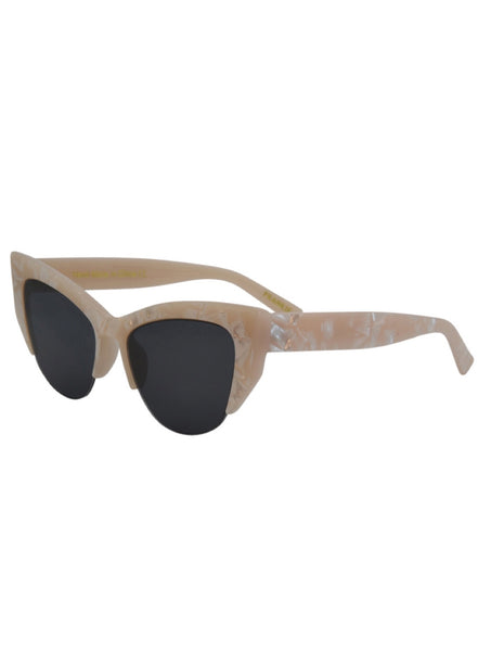 Costa Mesa Boutique I-sea frankie white pearl sunglasses 2