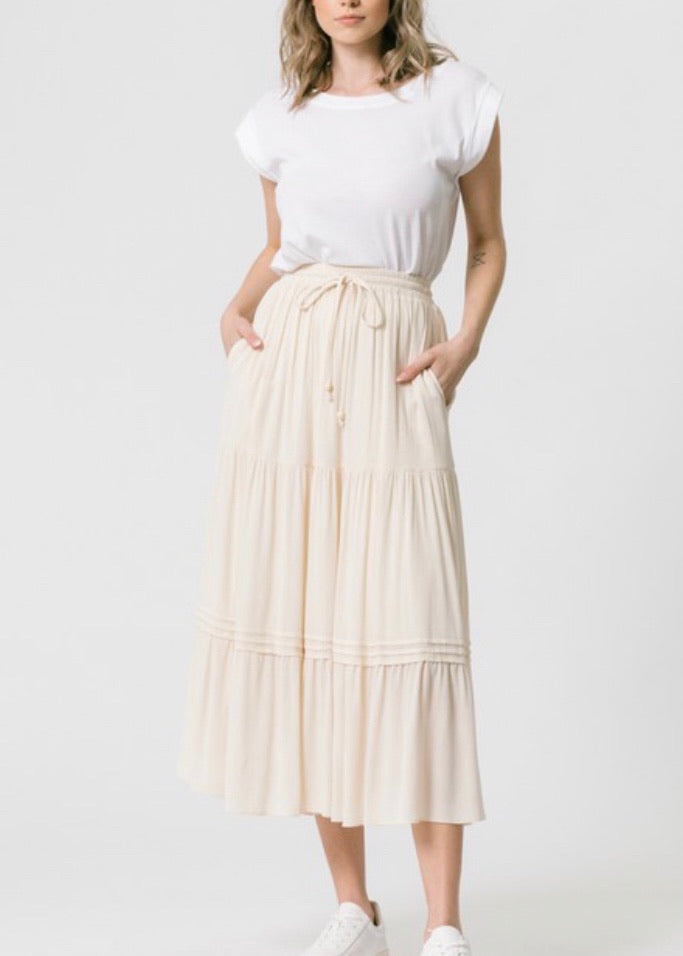 Beach Bound Midi Skirt