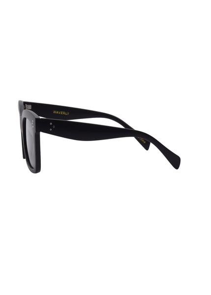 OC Boutique Waverly black sunglasses Isea 3