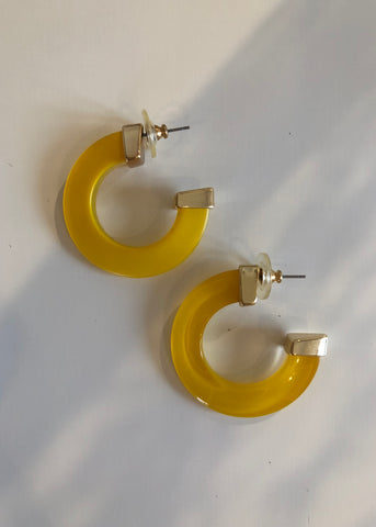 Yellow Hoops
