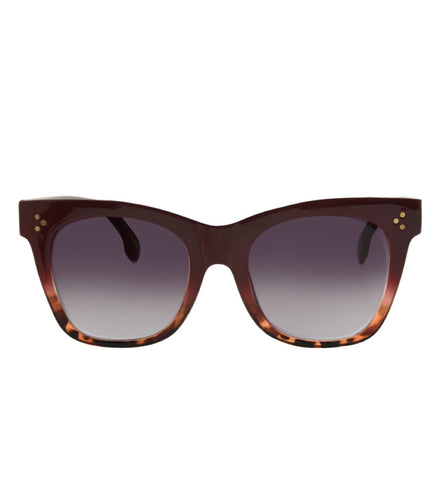 Stevie Maroon Sunnies