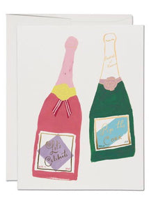 Champagne Card