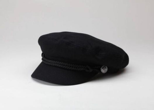 OC Boutique WYETH black Captains cap 2
