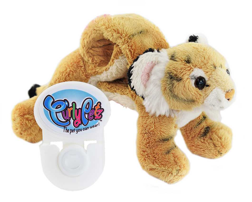 CURLY PETZ - Tiger & FREE Wall Mount