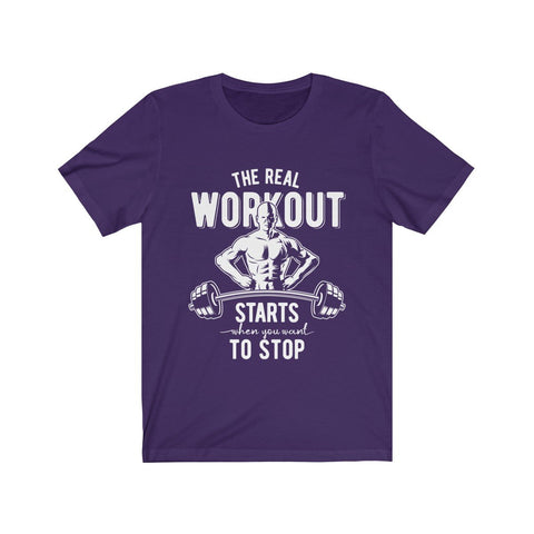 The Real Workout T-Shirt