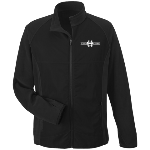 Hustle Class Microfleece with Front Polyester Overlay