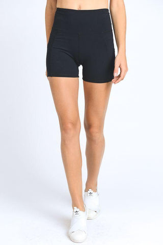 High Waist Active Shorts