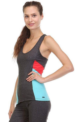 Color Block Racerback Tank