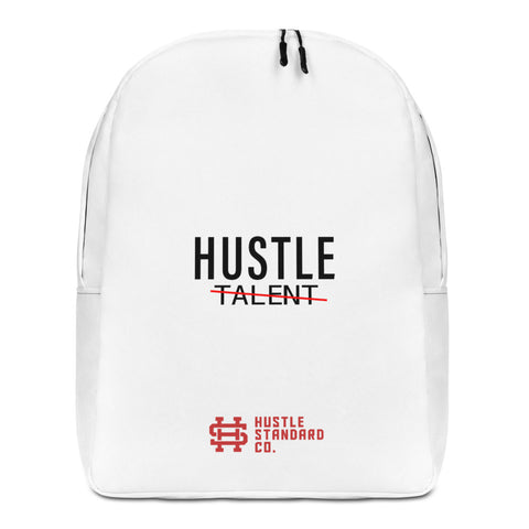 Minimalist Hustle Over Talent Backpack - Hustle Standard Co.