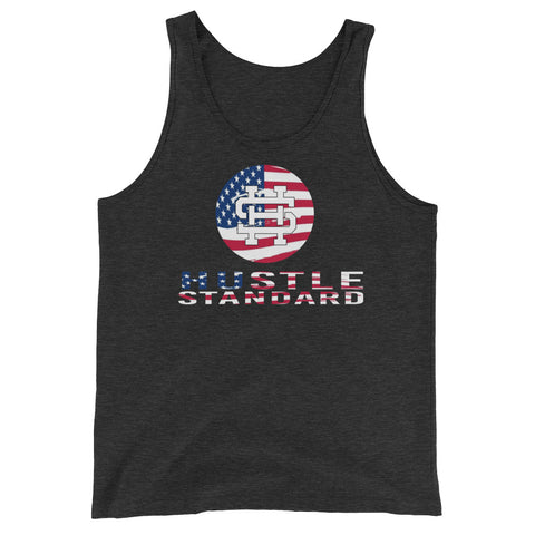 USA Unisex  Tank Top-5 Color Options - Hustle Standard Co.