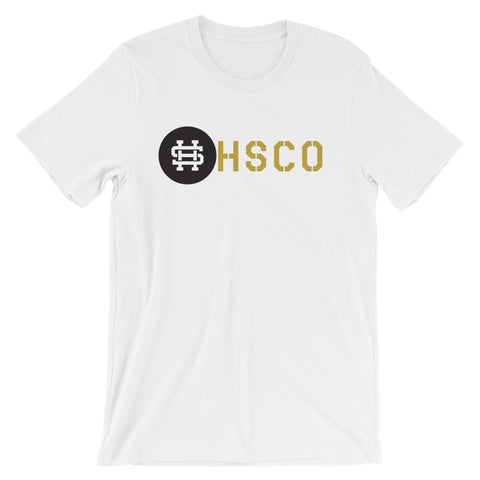 HSCOShort-Sleeve T-Shirt Front and Back- 4 Color Options