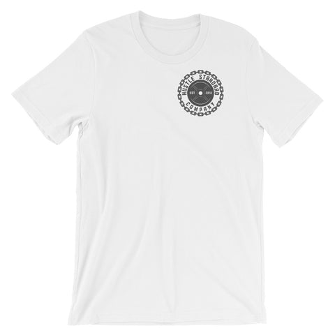 OG HSCO Unisex T-Shirt -13 color options Front and back - Hustle Standard Co.