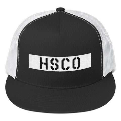 Blocked Trucker Cap - Hustle Standard Co.