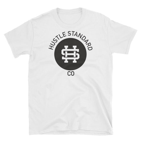 Rounded Logo Unisex T-Shirt - Hustle Standard Co.