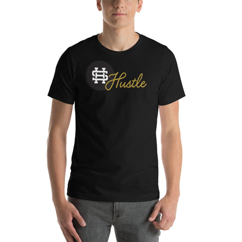 Gold Hustle Short-Sleeve Unisex T-Shirt- 5 Color Option