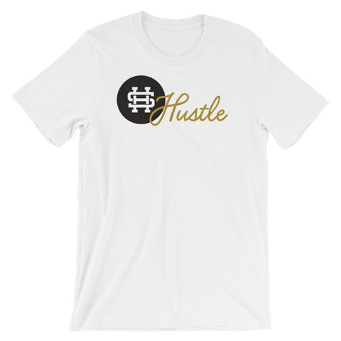 Gold HustleShort-Sleeve Unisex T-Shirt- Front and Back print