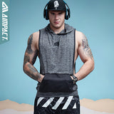 Men's Sleeveless Light Hoodie