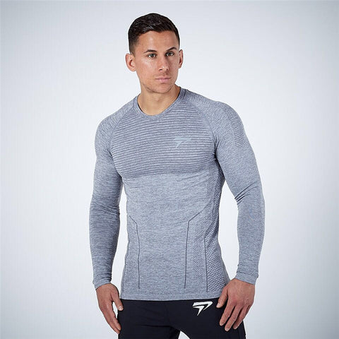 Long Sleeve Fitted Tee-4 Color Options