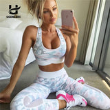 Camo Set-Top And Leggings