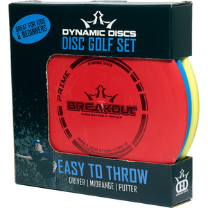 Dynamic Discs Easy To Throw Disc Golf Starter Set