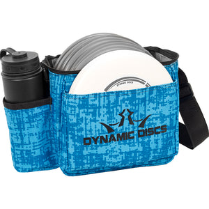 Dynamic Discs Cadet Disc Golf Bag - Genome Blue