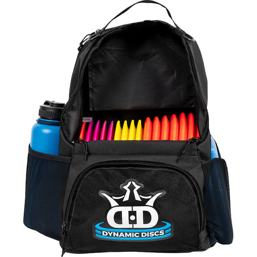 Dynamic Discs Cadet Backpack in Black