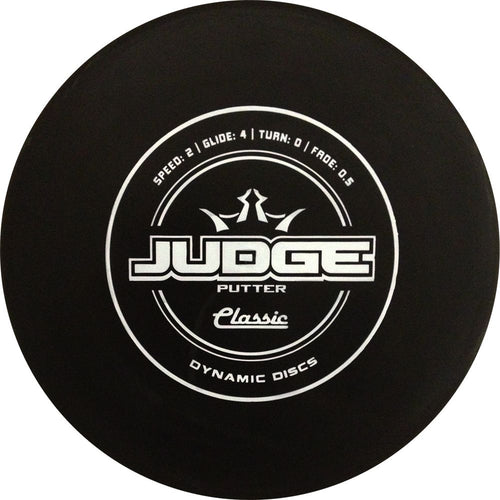 Dynamic Discs Classic Judge Disc Golf Putter