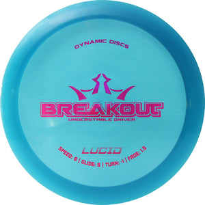 Dynamic Discs Lucid Breakout Disc Golf Driver