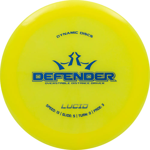 Dynamic Discs Lucid Defender Disc Golf Distance Driver