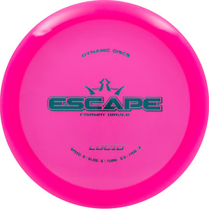 Dynamic Discs Lucid Escape Disc Golf Fairway Driver