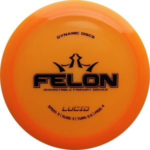 Dynamic Discs Lucid Felon Disc Golf Fairway Driver
